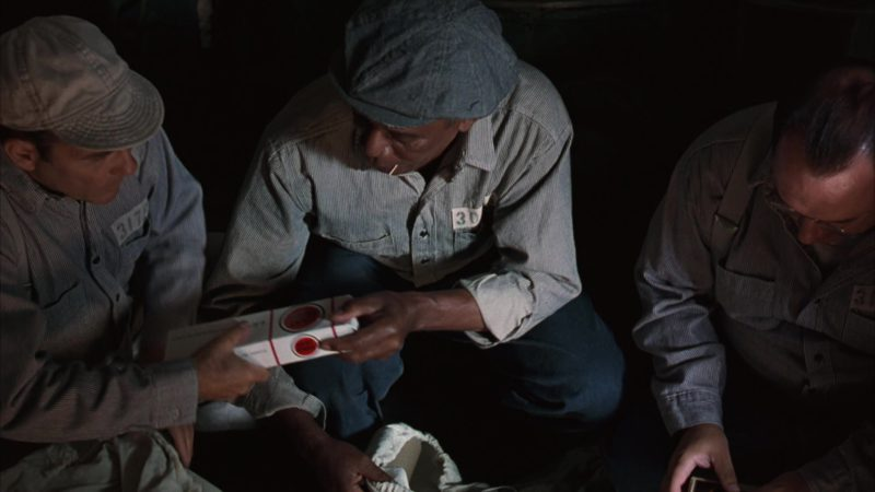 Lucky Strike Cigarettes in The Shawshank Redemption (1994) Movie Product Placement