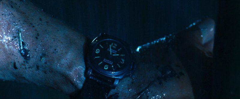 Panerai Marina Militare Luminor Men's Watch Worn by Sylvester Stallone in Rambo (2008) Movie