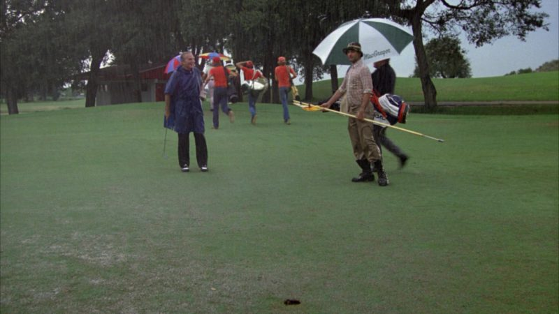 MacGregor Golf Umbrella in Caddyshack (1980) Movie Product Placement