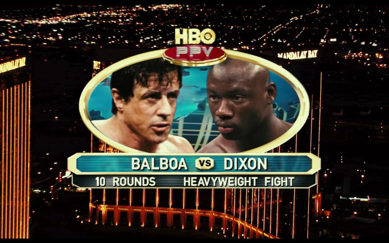 Mandalay Bay and HBO PPV in Rocky Balboa (2)