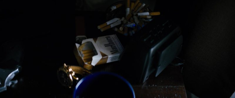 Marlboro Cigarettes in The Equalizer (2014) - Movie Product Placement