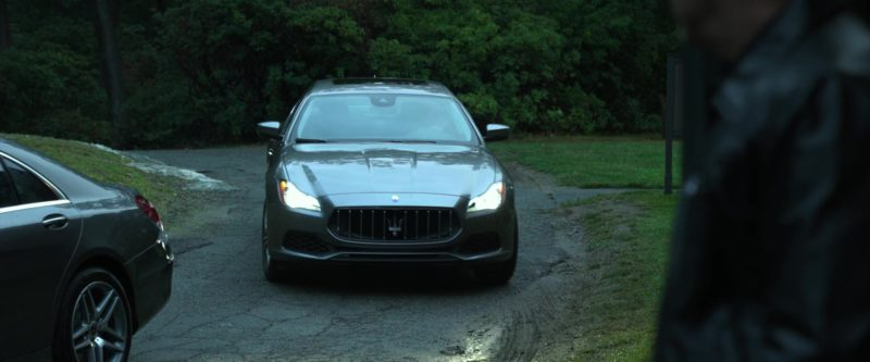 Maserati Quattroporte Q4 Car Driven by Taraji P. Henson in Proud Mary (2018) Movie