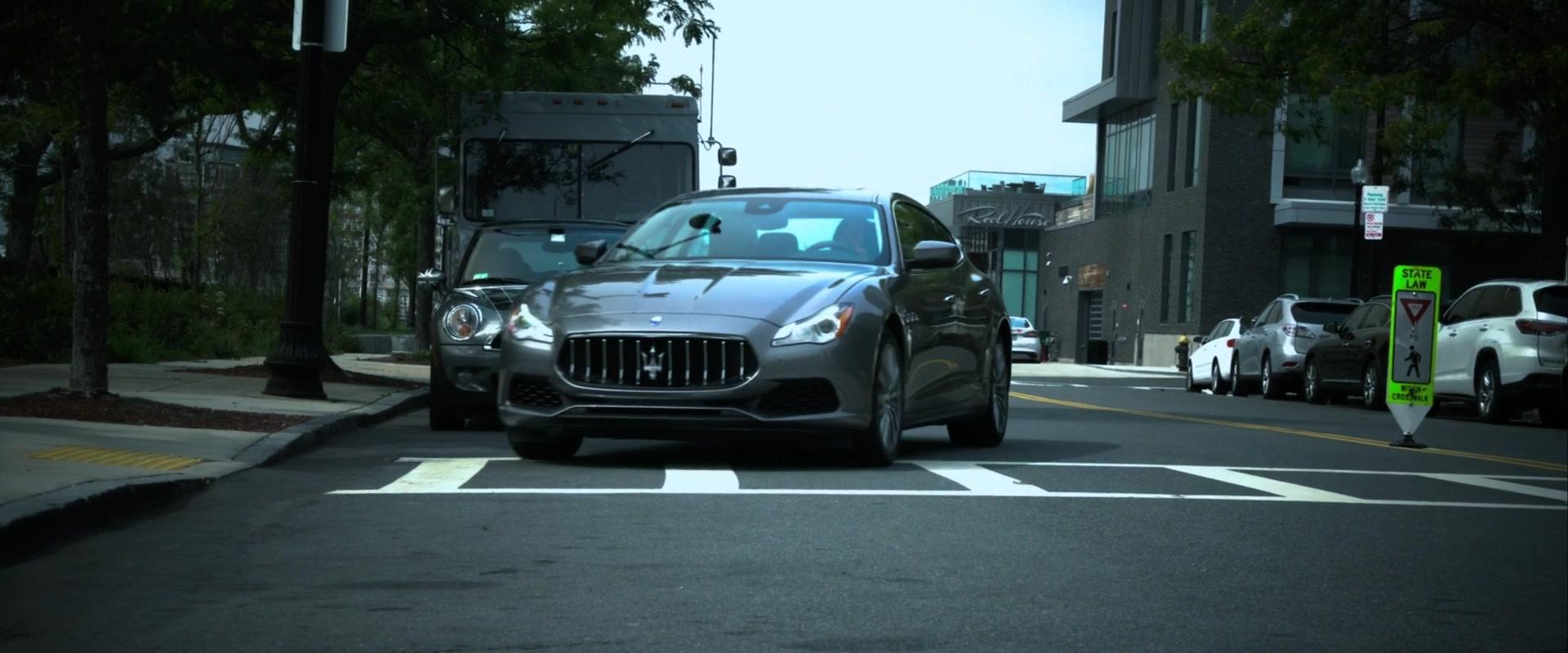 2018 Dodge Challenger >> Maserati Quattroporte Q4 Car Driven by Taraji P. Henson in Proud Mary (2018) Movie