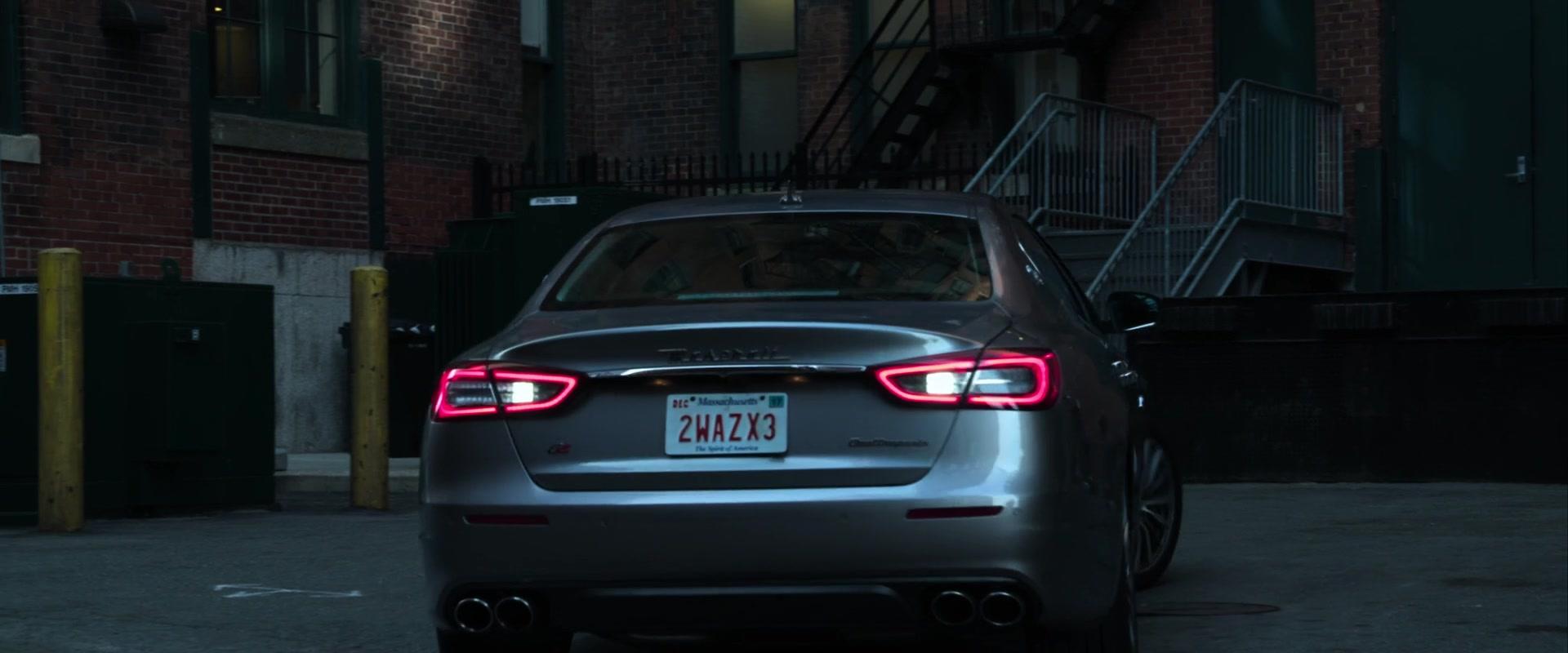 2017 Maserati Quattroporte S Q4 >> Maserati Quattroporte Q4 Car Driven by Taraji P. Henson in Proud Mary (2018) Movie