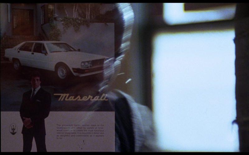 Maserati in Rocky 3