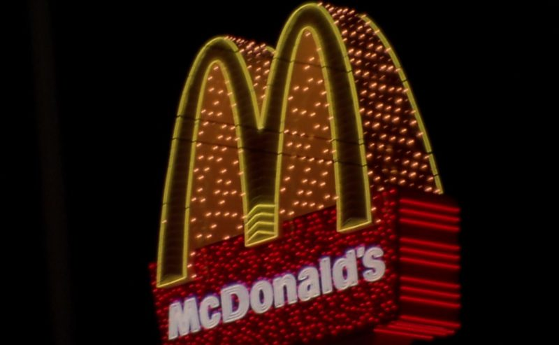 McDonald's Restaurant Sign in Leaving Las Vegas (1995) Movie Product Placement