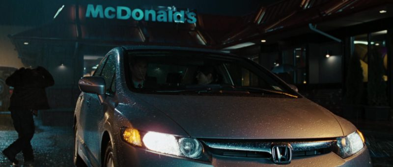 McDonald's Sign and Honda Civic Vehicle in The Day the Earth Stood Still (2008) - Movie Product Placement
