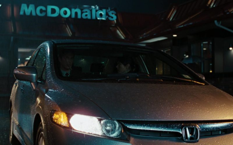 McDonald's Sign and Honda Civic in The Day the Earth Stood Still