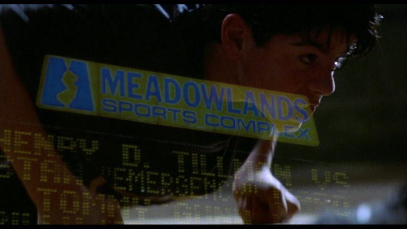 Meadowlands Sports Complex in Rocky 5 (1990) - Movie Product Placement