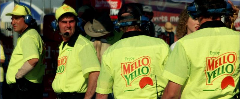 Mello Yello in Days of Thunder (1990) Movie Product Placement