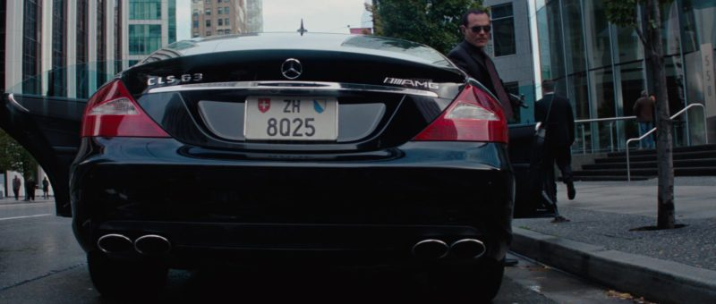 Mercedes-Benz CLS63 AMG Car in The A-Team (2010) - Movie Product Placement