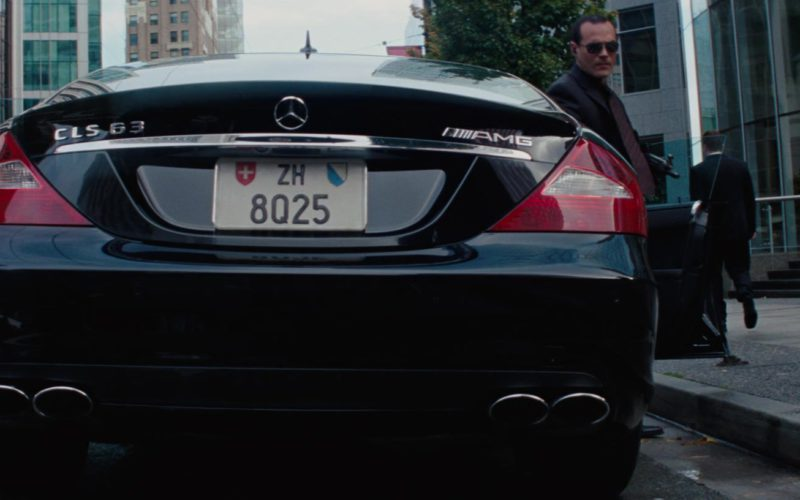 Mercedes-Benz CLS63 AMG Car in The A-Team (1)