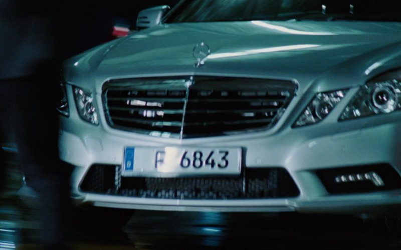 Mercedes-Benz E550 Car in The A-Team (1)