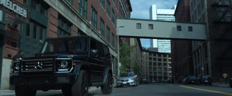 Mercedes-Benz G-Class SUV in Proud Mary (2018) Movie Product Placement