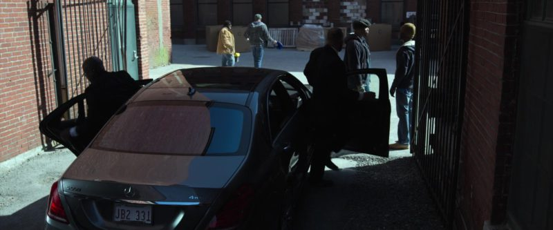 Mercedes-Benz S550 4Matic Car in Proud Mary (2018) - Movie Product Placement