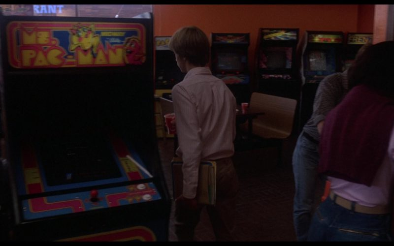 Midway Ms. Pac-Man Videogame in WarGames (1)