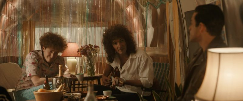 Moët & Chandon Champagne in Bohemian Rhapsody (2018) Movie Product Placement