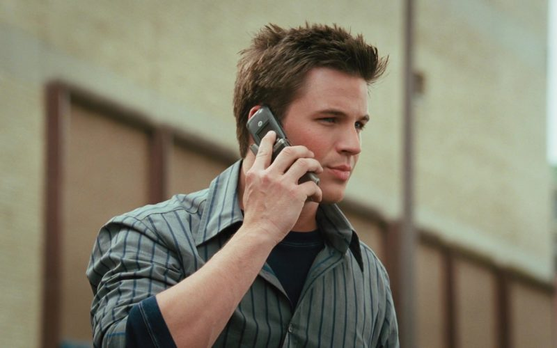 Motorola Cell Phone Used by Matt Lanter in Disaster Movie (1)