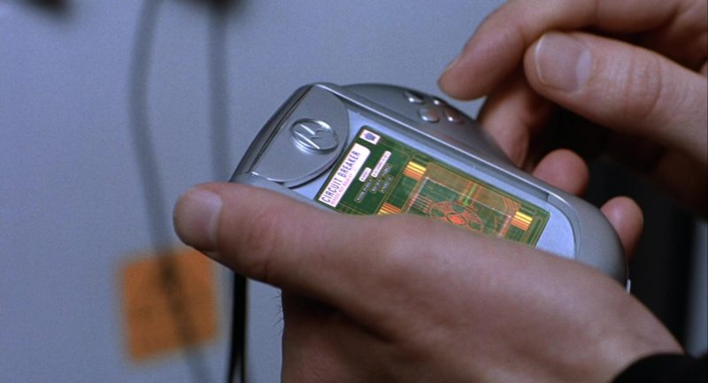 Motorola Phone Used by Ben Miller in Johnny English (2003) Movie Product Placement