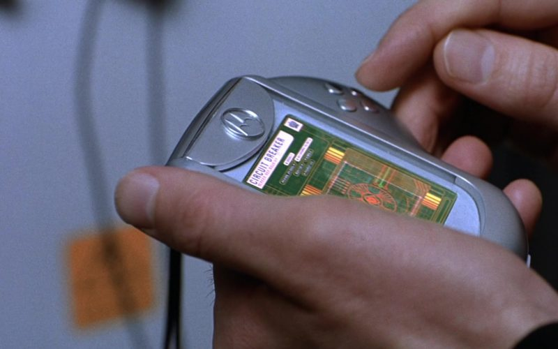 Motorola Phone Used by Ben Miller in Johnny English