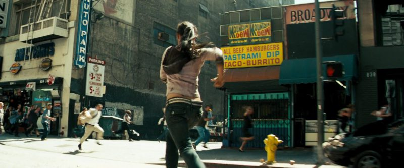 Mountain Dew Signs in Transformers (2007) - Movie Product Placement