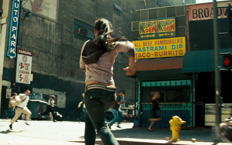 Mountain Dew Signs in Transformers