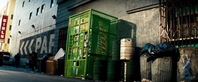 Mountain Dew Vending Machine/Bot in Transformers (2007) Movie Product Placement
