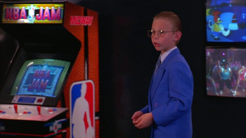 NBA Jam Video Game Machine by Midway Games in North (1994) - Movie Product Placement