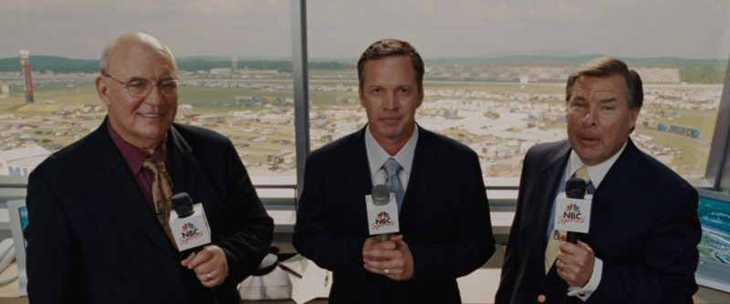 NBC Sports TV Channel in Talladega Nights: The Ballad of Ricky Bobby (2006) - Movie Product Placement