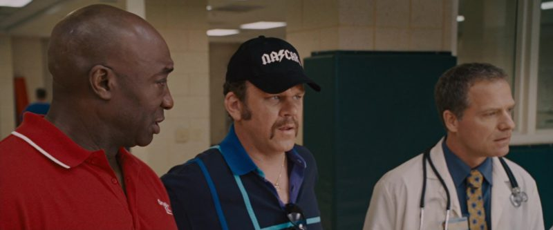 Nascar Cap Worn by John C. Reilly in Talladega Nights: The Ballad of Ricky Bobby (2006) - Movie Product Placement