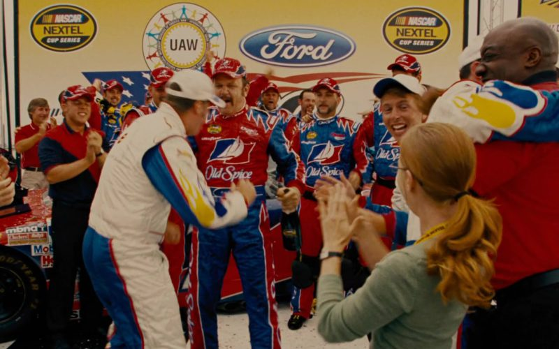 Nascar, Nextel, Ford, Old Spice in Talladega Nights The Ballad of Ricky Bobby
