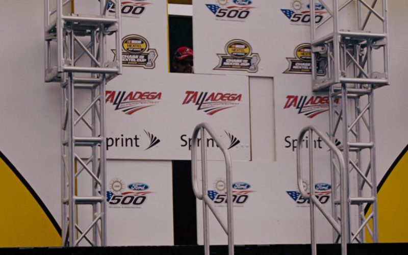 Nascar Nextel Superseries, Ford, Sprint in Talladega Nights