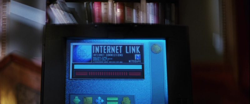 Netscape Web Browser in Mission: Impossible (1996) - Movie Product Placement