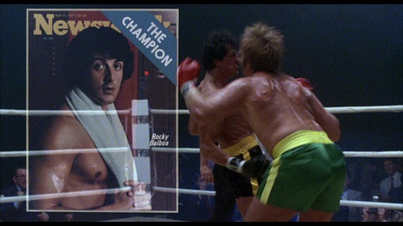 Newsweek Magazine in Rocky 3 (1982) - Movie Product Placement