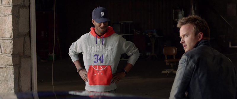 Nike Air Hoodie Force 34 Worn by Kid Cudi in Need for Speed (2014) Movie Product Placement