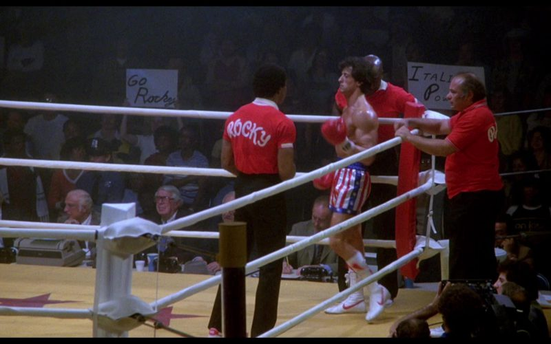 Nike Boxing White Boots Worn by Sylvester Stallone (Rocky Balboa) in Rocky 3 (2)