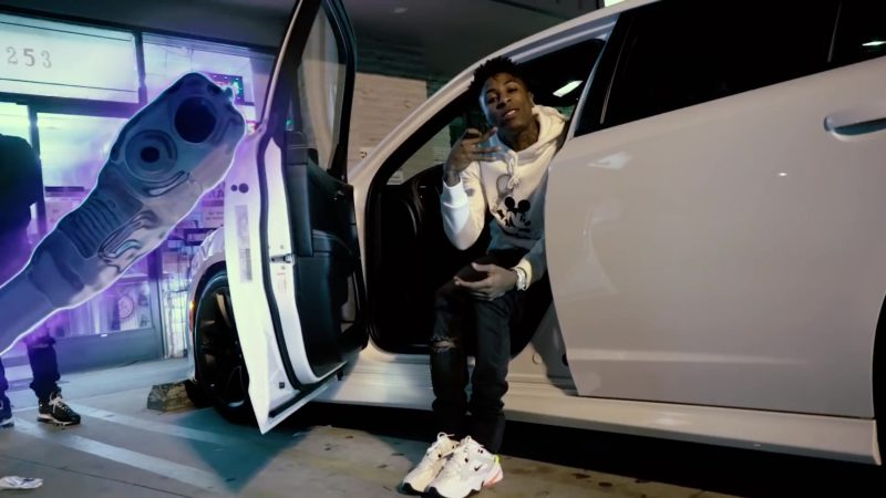 Nike M2K Tekno Men's Sneakers Worn by YoungBoy Never Broke Again in Valuable Pain (2018) - Official Music Video Product Placement
