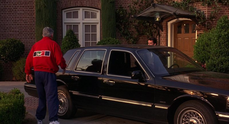 Nike Men's Red Sports Jacket in Grosse Pointe Blank (1997) - Movie Product Placement
