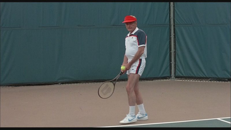 Nike Shirt, Men's Shorts and Sneakers in Bachelor Party (1984) - Movie Product Placement