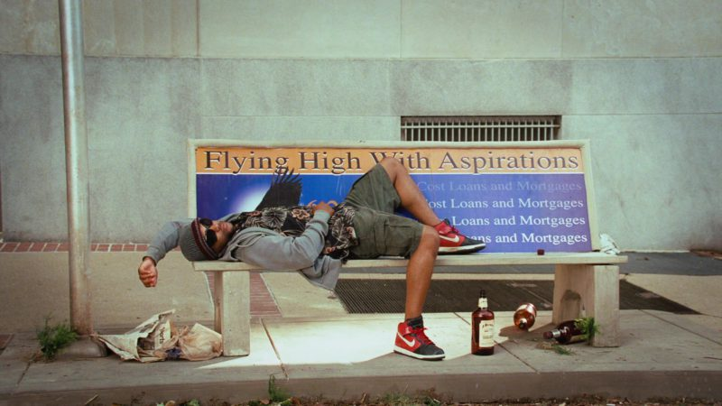 Nike Men's Sneakers in Disaster Movie (2008) Movie Product Placement