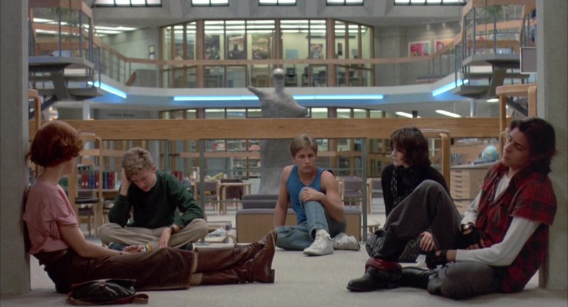 Nike Shoes Worn by Emilio Estevez in The Breakfast Club (1985) - Movie Product Placement