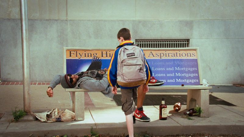 Nike Shoes and Jansport Backpack in Disaster Movie (2008) Movie Product Placement