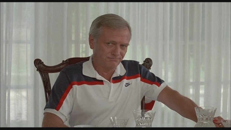 Nike Short Sleeve Shirt Worn by Actor in Bachelor Party (1984) - Movie Product Placement