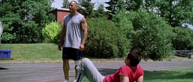 Nike Shorts Worn by Dwayne Johnson in Walking Tall (2004) - Movie Product Placement