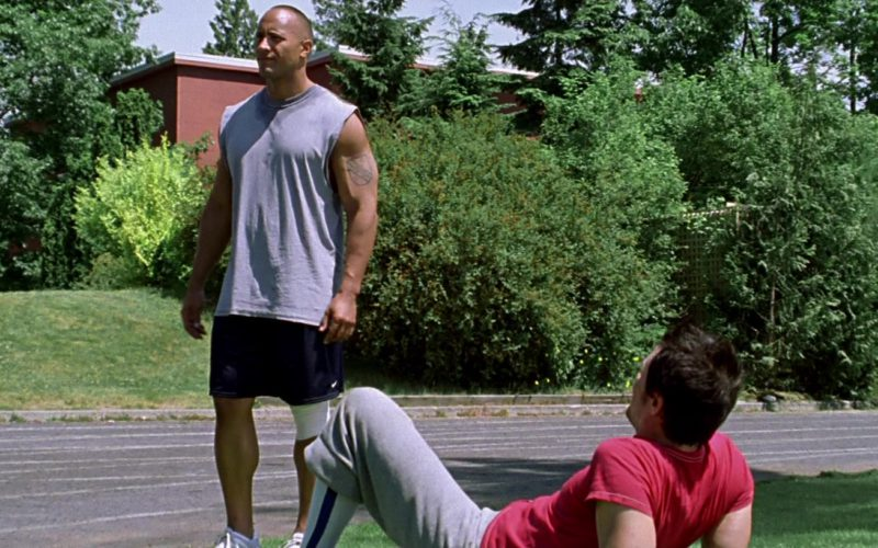Nike Shorts Worn by Dwayne Johnson in Walking Tall