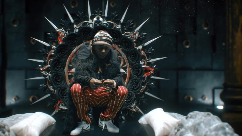 Nike Sneakers Worn by Lil Wayne in Don't Cry ft. XXXTentacion (2019) - Official Music Video Product Placement