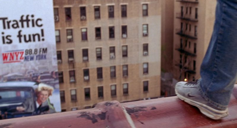 Nike Sneakers Worn by Tobey Maguire in Spider-Man (2002) Movie Product Placement