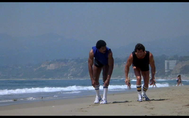 Nike Sneakers and Socks Worn by Carl Weathers (Apollo Creed) in Rocky 3 (1)