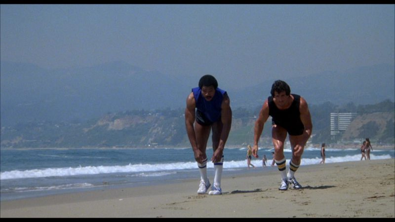 Nike Sneakers and Socks Worn by Carl Weathers (Apollo Creed) in Rocky 3 (1982) Movie