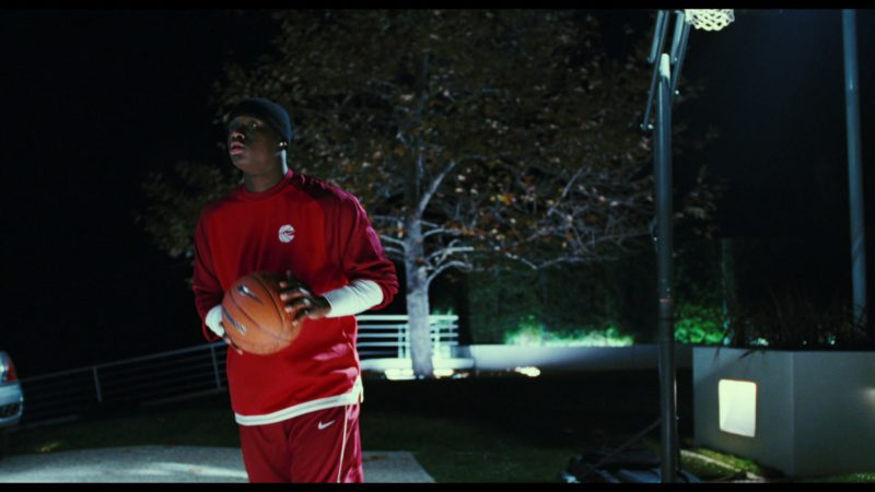 Nike Sweatshirt, Pants and Basketball Held by Antonio Tarver in Rocky Balboa (2006) Movie Product Placement